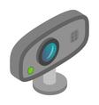Web camera icon cartoon style vector image