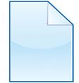 New file icon vector image