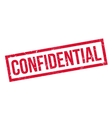 Confidential rubber stamp vector image