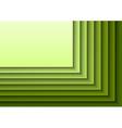Green Layeres vector image vector image