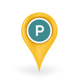 Parking Location vector image