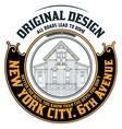 000 house logo vector image vector image