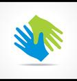 Businessman handshake icon stock vector image vector image