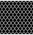3d black and white islamic seamless pattern vector image