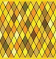 harlequine golden seamless pattern vector image vector image