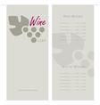 Wino vector image vector image