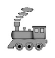 locomotive sign icon vector image