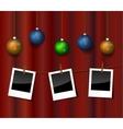 Christmas photo vector image