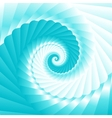 Sea wave twirl vector image