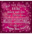 merry christmas3 vector image