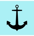 Anchor icon flat vector image