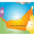 United Arab Emirates vector image vector image