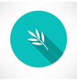 branch and leaves vector image