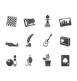 Leisure and Holiday Icons vector image