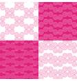 set of ethnic Greek geometric patterns vector image