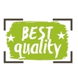 Best quality hand drawn isolated label vector image