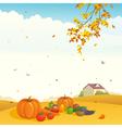 Fall crop vector image