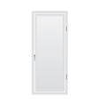 closed door vector image