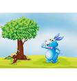 Blue Bunny vector image