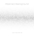 Abstract Gray Technology Cover Background vector image