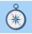 stylish flat design Compass Icon vector image