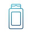 shampoo bottle product vector image