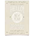 New year greetings and wishes calligraphy design vector image vector image