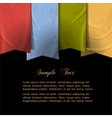 background ribbons made of old paper vector image vector image