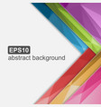 Abstract brochure background vector image