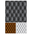 leather vector image