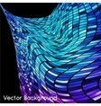 Abstract grid rainbow background vector image vector image