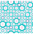 Abstract hexagonal seamless pattern vector image