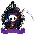 Cartoon Grim Reaper Pointing vector image