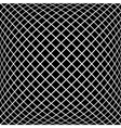 Black diagonal pattern in vector image