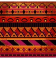Grunge tribal pattern vector image vector image
