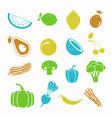 food black icon set vector image