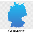 germany map in europe continent design vector image