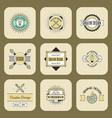 graphic art design logo company identity vector image
