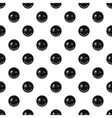 Winking smiley pattern simple style vector image