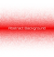 Abstract Bright Light Red Technology Background vector image