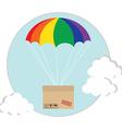 Air shipping vector image