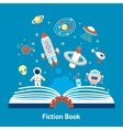 Fiction Book vector image
