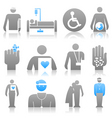 medical icons8 vector image vector image
