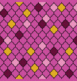 flat moroccan seamless pattern vector image