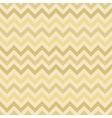Retro gold zigzag chevron pattern vector image