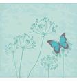 fennel flower vector image