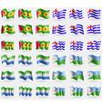 Sao Tome and Principe Ajaria Sierra Leone Djibouti vector image