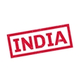 India rubber stamp vector image