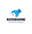 Repair Home Design vector image