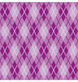 Textile Fabric Rhombs Seamless Texture vector image vector image